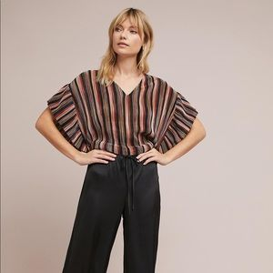 Anthropologie Vanessa Virginia Beinville Ruffle
